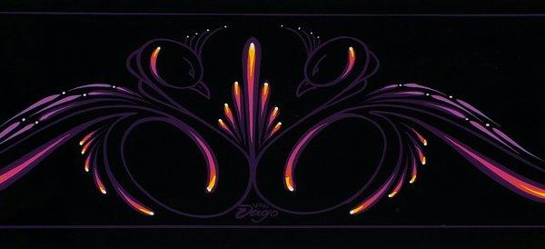 Black Swans - Original Art panel