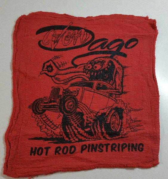 Von Dago '32 Coupe Mechanics Rag