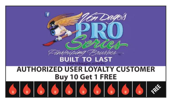 Saber Liner Loyalty card