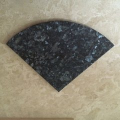 Blue Pearl Granite Natural Stone Shower Corner Shelf