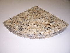3cm New Venetian Gold Granite Shower Corner Shelf