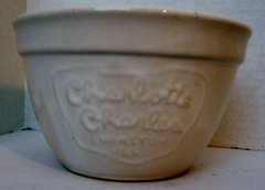 "5"" X 3"" CHARLOTTE CHARLES POTTERY BOWL EVANSTON, IL"