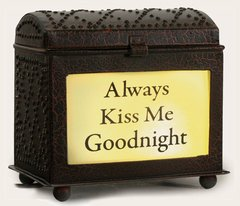 WAX WARMER -ALWAYS KISS ME GOODNIGHT-DIAMOND BOX