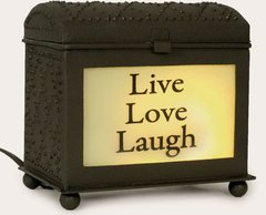 Wax Warmer-Live Love Laugh-Diamond Box