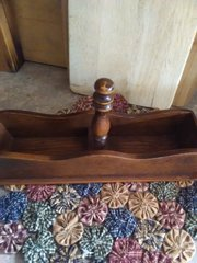 Vintage Wooden Cracker Tray
