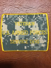 Army/Air Force Green Veteran Patch