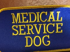 Medical Service Dog Patch