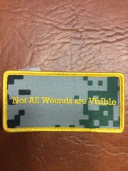 """""""Not All Wounds Are Visible"""" patch"""