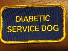 Diabetic Service Dog Patch