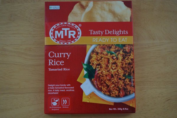 Curry Rice, MTR, 250 G