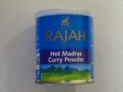 Hot Madras Curry Powder RAJAH 100 g