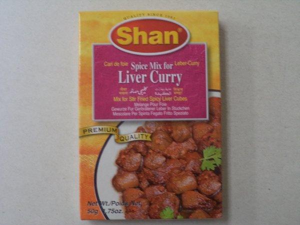 Liver Curry Shan 50 g