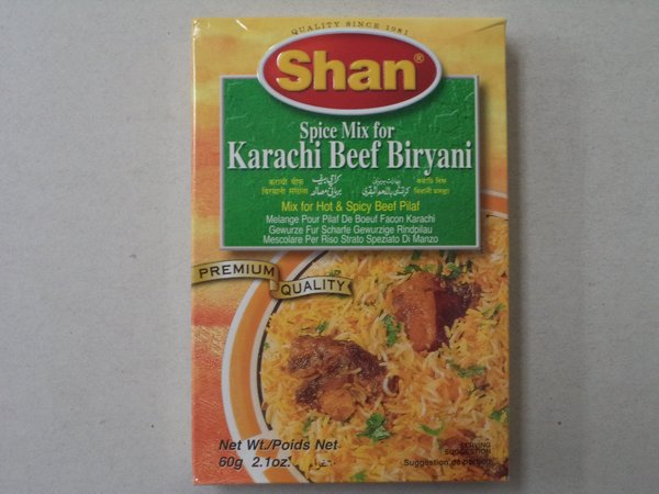 Karach Beef Biryani 60 g