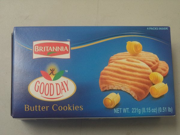 Good Day Butter Cookies, Britannia, 231 G