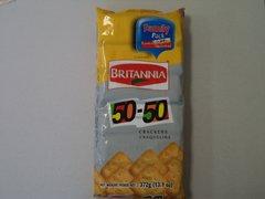50-50 Crackers Family Pack Britannia 372 g
