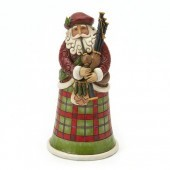 Scottish Santa Figurine
