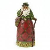 Irish Santa Figurine