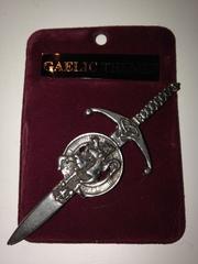 Clan Crest Kilt Pin A - L