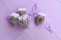 Heart Shaped Lavender Sachet