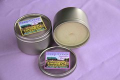 Lavender and Lemongrass Soy Candle (8 oz metal tin)