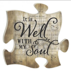 Puzzle Piece- Well Within My Soul