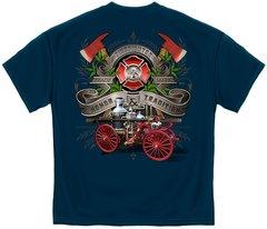 Firefighter Antique Pump Truck