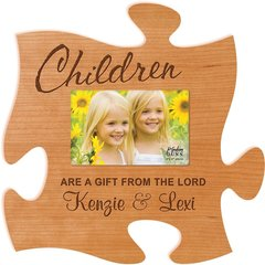 Puzzle Piece Picture Frame