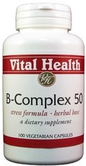 B-Complex 50 mg 100 caps
