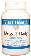 Mega 1 Daily (No Iron) 90 Vegetarian Caps