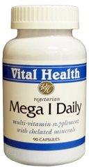 Mega 1 Daily (with Iron) 90 Vegetarian Caps
