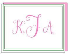 Monogram - Boxed Note Cards