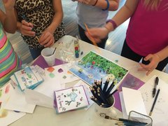 Friday (Oakwood's early release days) Art Classes