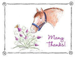 Blank inside - Dream Greeting Card