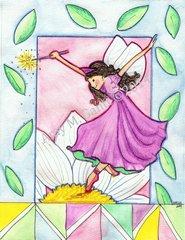 Garden Blessing Fairy Birthday Greeting Card