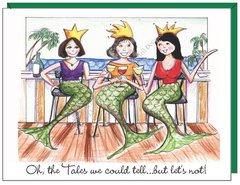 Coastal - Oh the tales we could tell...Mermaid Boxed Note Cards