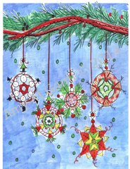 Have a Merry Little Christmas Ornament Card
