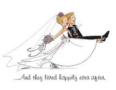 Wedding - The Wedding March Greeting Card