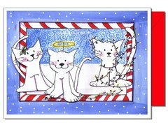 Deck the Cats Holiday Card
