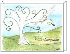 Sympathy - Tree of Life Greeting Card