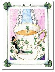 St. Patrick's - Irish Tea Greeting Card