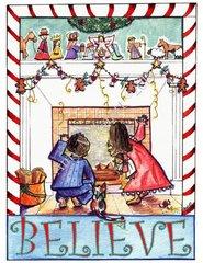 Christmas - Believe Card