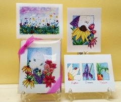 Garden Flowers Assorted Note Cards