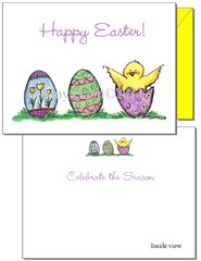 Easter - Chick Greeting Card