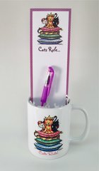 Cats Rule Mug Gift Set