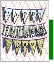 Father's Day - Happy Father's Day Greeting Card