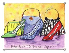 What to Wear Friendship Greeting Card