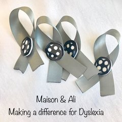 Dyslexia Pin by MAD Team (Maison and Ali for Dyslexics)