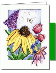 One Bee Boxed Boxed Note Cards