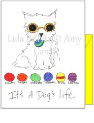 It's a Dog's Life Boxed Note Cards