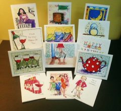 Greeting Card Monthly Subscription Set
